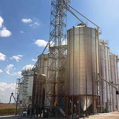 Organic Grain Storage Silos Opa's Organics
