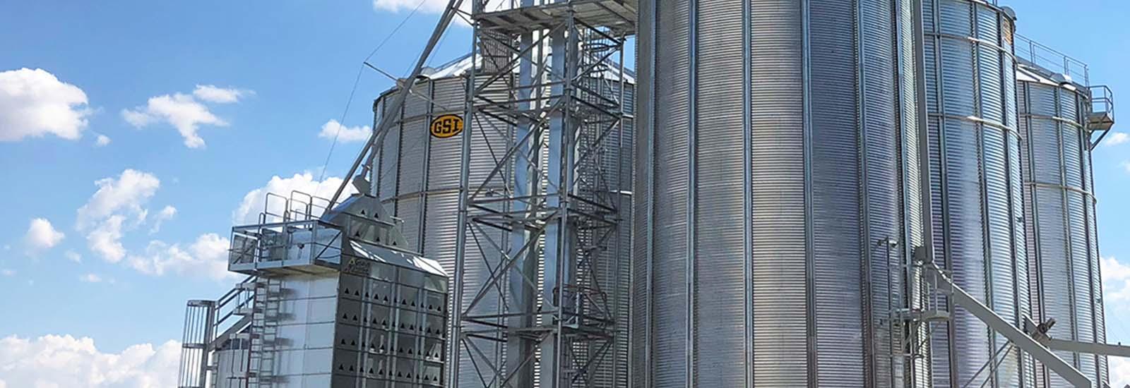 Grain Storage Opa's Organics